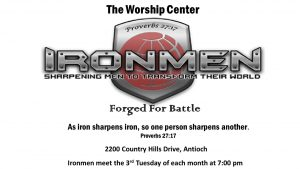 IRONMEN Men's Ministry